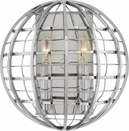 Hinkley 3512PN Terra Contemporary Polished Nickel Wall Light Sconce