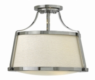 Hinkley 3521CM Charlotte Chrome Flush Lighting