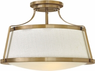 Hinkley 3522BC Charlotte Contemporary Brushed Caramel Ceiling Lighting Fixture