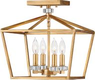 Hinkley 3533DA Stinson Distressed Brass Ceiling Lighting