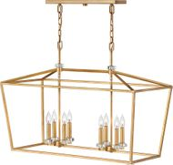 Hinkley 3534DA Stinson Distressed Brass Kitchen Island Light