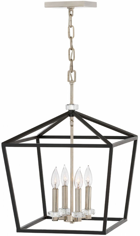 huge selection of b561e 6cfd4 Hinkley 3535BK Stinson Black Foyer Light Fixture