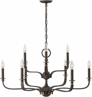 Hinkley 3599OZ Ruthorford Oil Rubbed Bronze Lighting Chandelier
