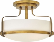 Hinkley 3641HB Harper Heritage Brass Flush Mount Lighting