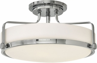 Hinkley 3643CM Harper Chrome Flush Mount Light Fixture