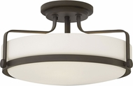 Hinkley 3643OZ Harper Oil Rubbed Bronze Flush Ceiling Light Fixture