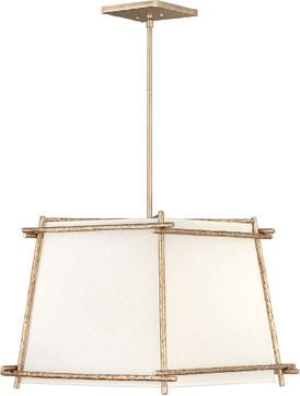 Hinkley 3674CPG Tress Contemporary Champagne Gold 21  Pendant Lamp
