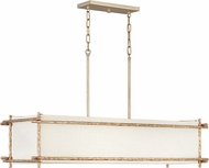 Hinkley 3676CPG Tress Contemporary Champagne Gold Island Light Fixture