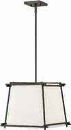 Hinkley 3677FE Tress Modern Iron Ore 14  Pendant Light Fixture