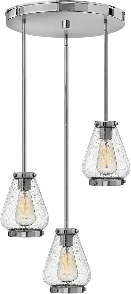 Hinkley 3688cm finley contemporary chrome multi pendant lighting hinkley 3688cm finley contemporary chrome multi pendant lighting loading zoom aloadofball Image collections