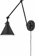 Hinkley 3692BK Arti Vintage Black Wall Swing Arm Lamp