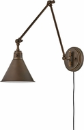 Hinkley 3692OB Arti Vintage Olde Bronze Wall Swing Arm Lamp