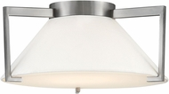 Hinkley 3721AN Calla Contemporary Antique Nickel LED 16  Flush Ceiling Light Fixture