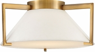 Hinkley 3721BR Calla Modern Brushed Bronze LED 16  Flush Mount Ceiling Light Fixture