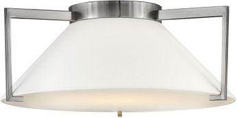 Hinkley 3723AN Calla Contemporary Antique Nickel LED 20  Home Ceiling Lighting