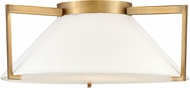Hinkley 3723BR Calla Modern Brushed Bronze LED 20  Overhead Light Fixture
