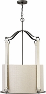 Hinkley 3764BGR Telluride Brushed Graphite 21.5  Foyer Lighting Fixture