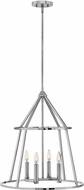 Hinkley 3773PN Middleton Modern Polished Nickel 20  Foyer Lighting