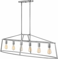 Hinkley 3776PN Middleton Modern Polished Nickel Island Lighting