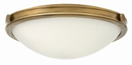 Hinkley 3783HB Maxwell Heritage Brass Flush Ceiling Light Fixture