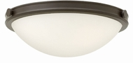 Hinkley 3783OZ Maxwell Oil Rubbed Bronze Flush Mount Ceiling Light Fixture