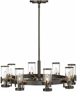 Hinkley 38106BX Reeve Traditional Black Oxide Hanging Chandelier