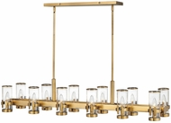 Hinkley 38108HB Reeve Traditional Heritage Brass Kitchen Island Light Fixture