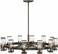 Hinkley 38109BX Reeve Traditional Black Oxide Chandelier Lighting