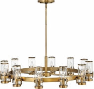 Hinkley 38109HB Reeve Traditional Heritage Brass Lighting Chandelier