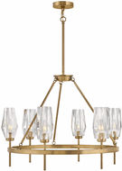 Hinkley 38255HB Ana Modern Heritage Brass LED Chandelier Light