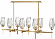 Hinkley 38256HB Ana Contemporary Heritage Brass LED Island Light Fixture