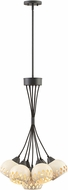 Hinkley 3895OZ Edie Contemporary Oil Rubbed Bronze / Weathered White Multi Hanging Pendant Lighting