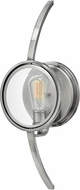 Hinkley 3920PL Fulham Contemporary Polished Antique Nickel Lighting Sconce