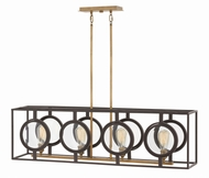 Hinkley 3926KZ Fulham Modern Buckeye Bronze Island Lighting