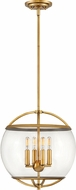 Hinkley 3934HB Calvin Contemporary Heritage Brass Drop Lighting