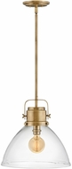Hinkley 40087HB Malone Contemporary Heritage Brass Ceiling Light Pendant