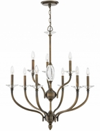 Hinkley 4009OR Surrey Oiled Bronze Lighting Chandelier