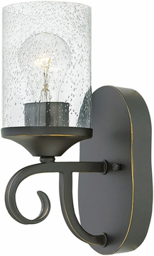 Hinkley 4010OL-CL Casa Olde Black Lighting Sconce