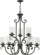 Hinkley 4018OL-CL Casa Olde Black Chandelier Light