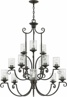 Hinkley 4019OL-CL Casa Olde Black Chandelier Lighting