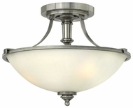 Hinkley 4021AN Truman Semi Flush Mount 12 Inch Tall Ceiling Lighting