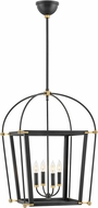 Hinkley 4055BK Selby Black 20  Foyer Lighting Fixture