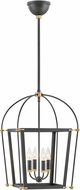 Hinkley 4057BK Selby Black 16  Foyer Lighting
