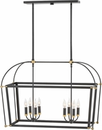 Hinkley 4058BK Selby Black Island Lighting