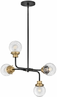Hinkley 40694BK Poppy Contemporary Black Drop Ceiling Lighting