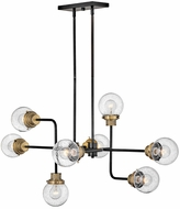 Hinkley 40698BK Poppy Contemporary Black Ceiling Light Pendant