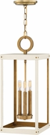 Hinkley 4074HB-WT Porter Heritage Brass w/ Warm White 9  Foyer Lighting Fixture