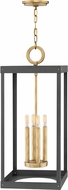 Hinkley 4075HB Porter Heritage Brass 12  Foyer Lighting