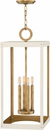 Hinkley 4075HB-WT Porter Heritage Brass w/ Warm White 12  Foyer Light Fixture