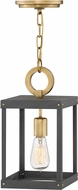Hinkley 4077HB Porter Heritage Brass Mini Pendant Light